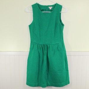 J. Crew Factory Green Dress with Pockets
